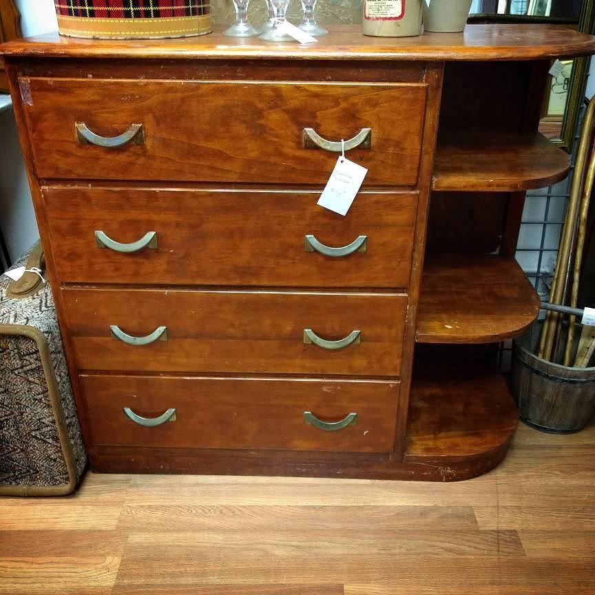 43 X 17 38 Secretary Dresser Top Drawer Is Writing Desk With