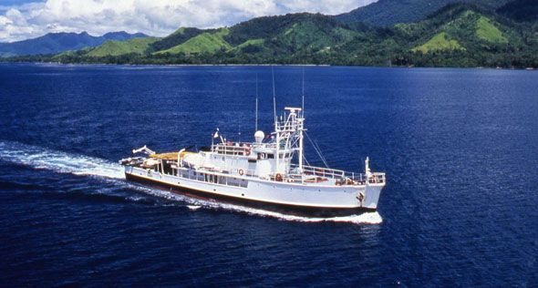 Jacque Cousteau Calypso