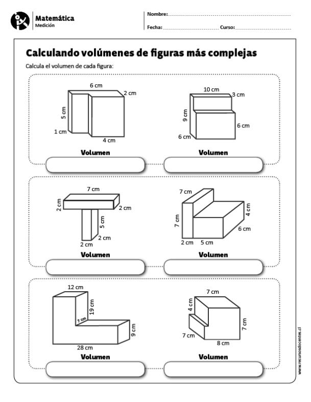 Calculando volúmenes de figuras más complejas (con