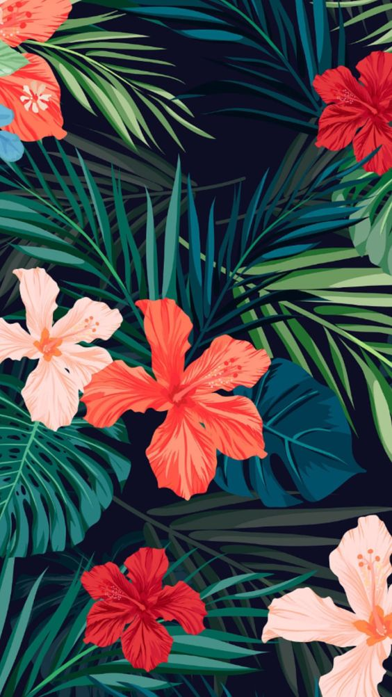 47 Most Popular Summer Wallpapers For Your Iphone Summer Wallpaper Tropical Wallpaper Pattern Wallpaper