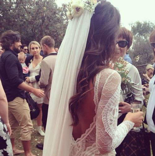 Bride After Ceremony