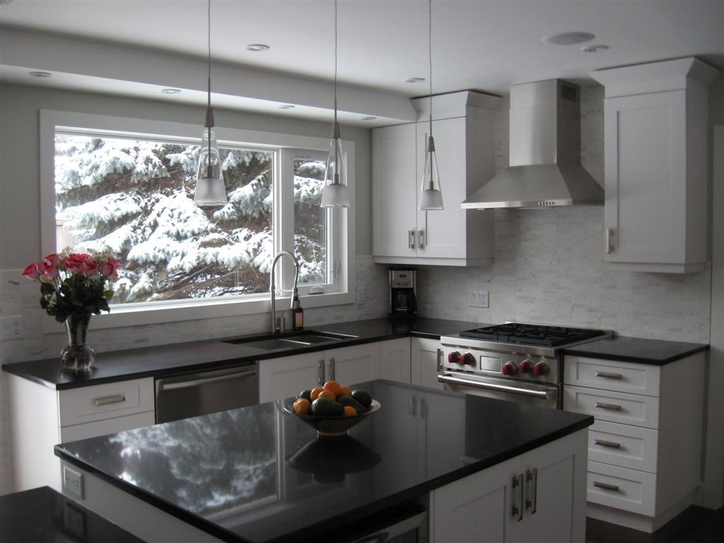 Best Kitchen Designs By Decor Polar White Maple Cabinets With 640 x 480