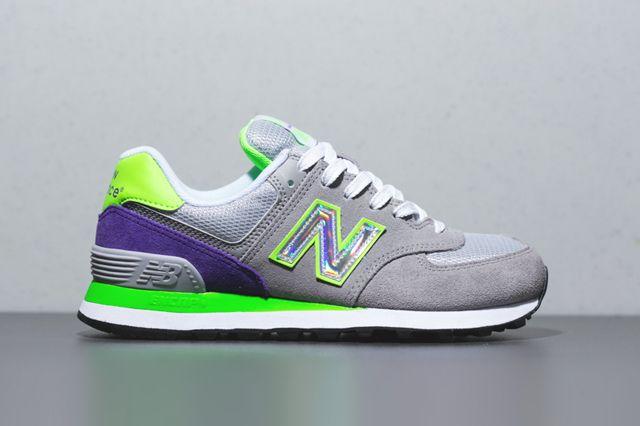 new balance 574 hologram running sneaker