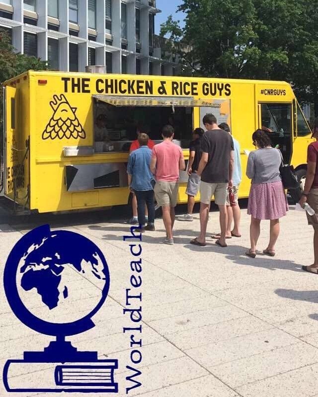 Come Join Worldteach At The Chicken Rice Guys Food Truck Here In