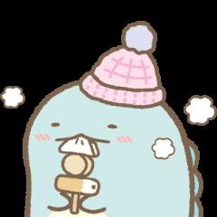 Sumikko Gurashi Winter Stickers Line Sticker Cute Stickers Sumiko Gurashi