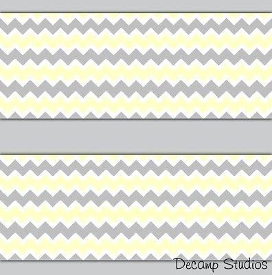 Gelbe und graue Wanddekor Innenarchitektur 2018 Pinterest