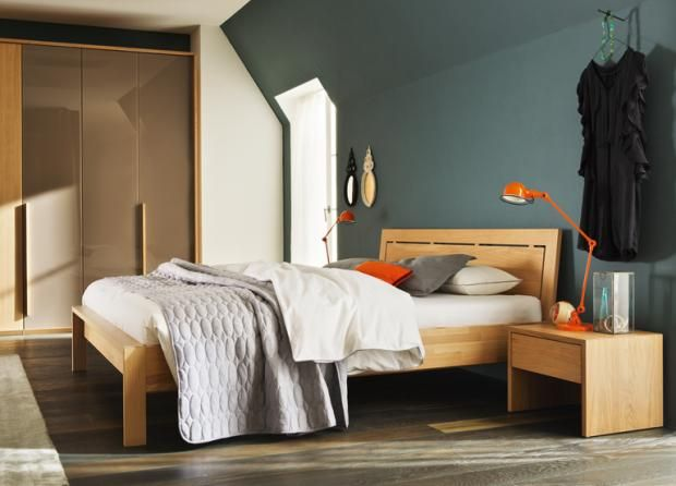 TEAM 7 Valore Bed | Home | Pinterest | Solid wood bed frame, Wood ...