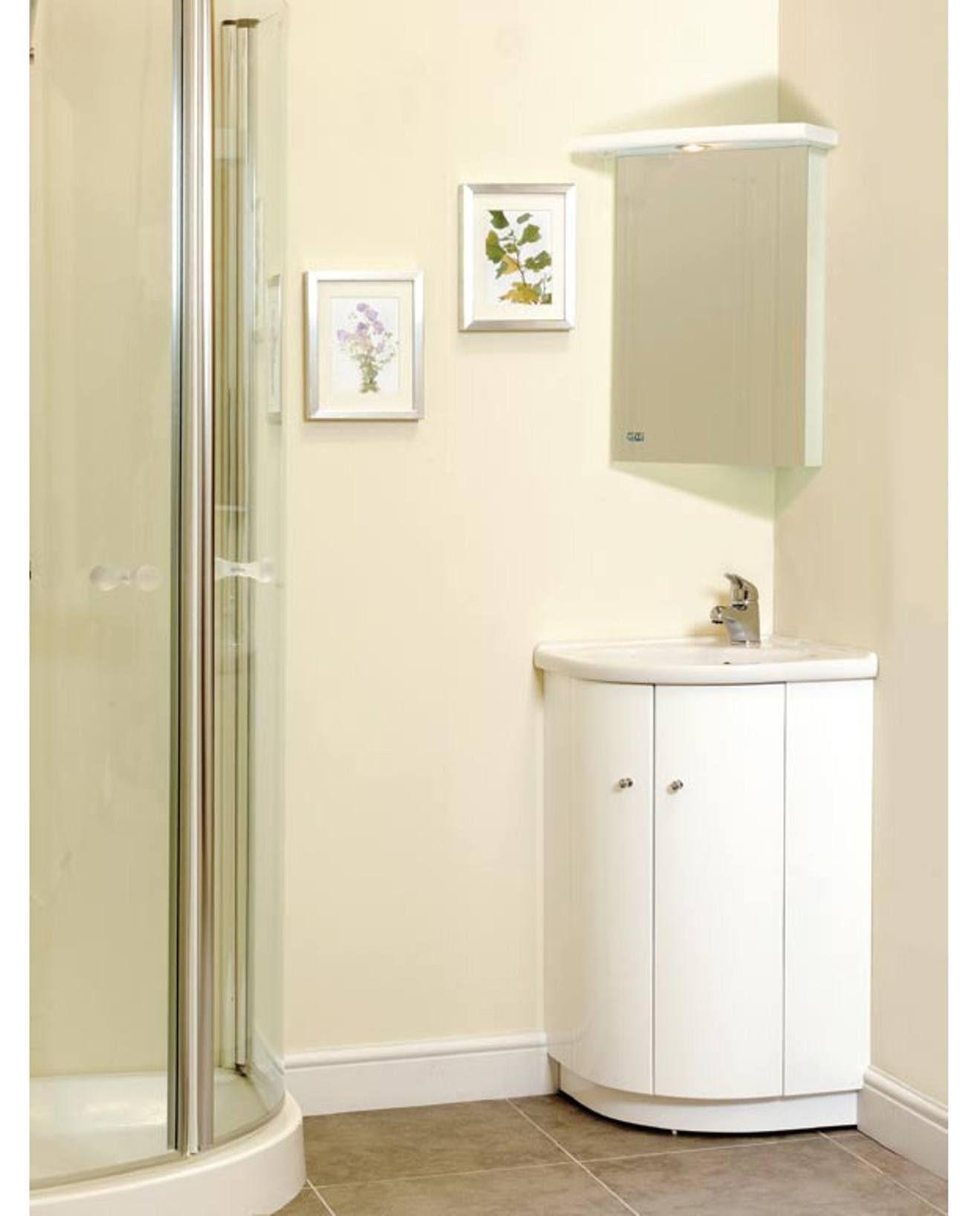 Bad Mobel Eck Einheiten Mit Bildern Diy Badezimmerspiegel
