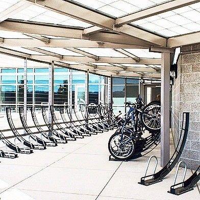 Vertical Secure Asthetic Bike Parking