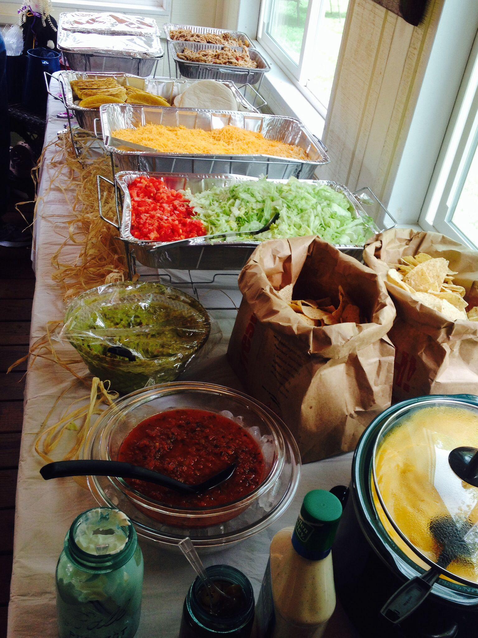 Graduation Party Taco Bar