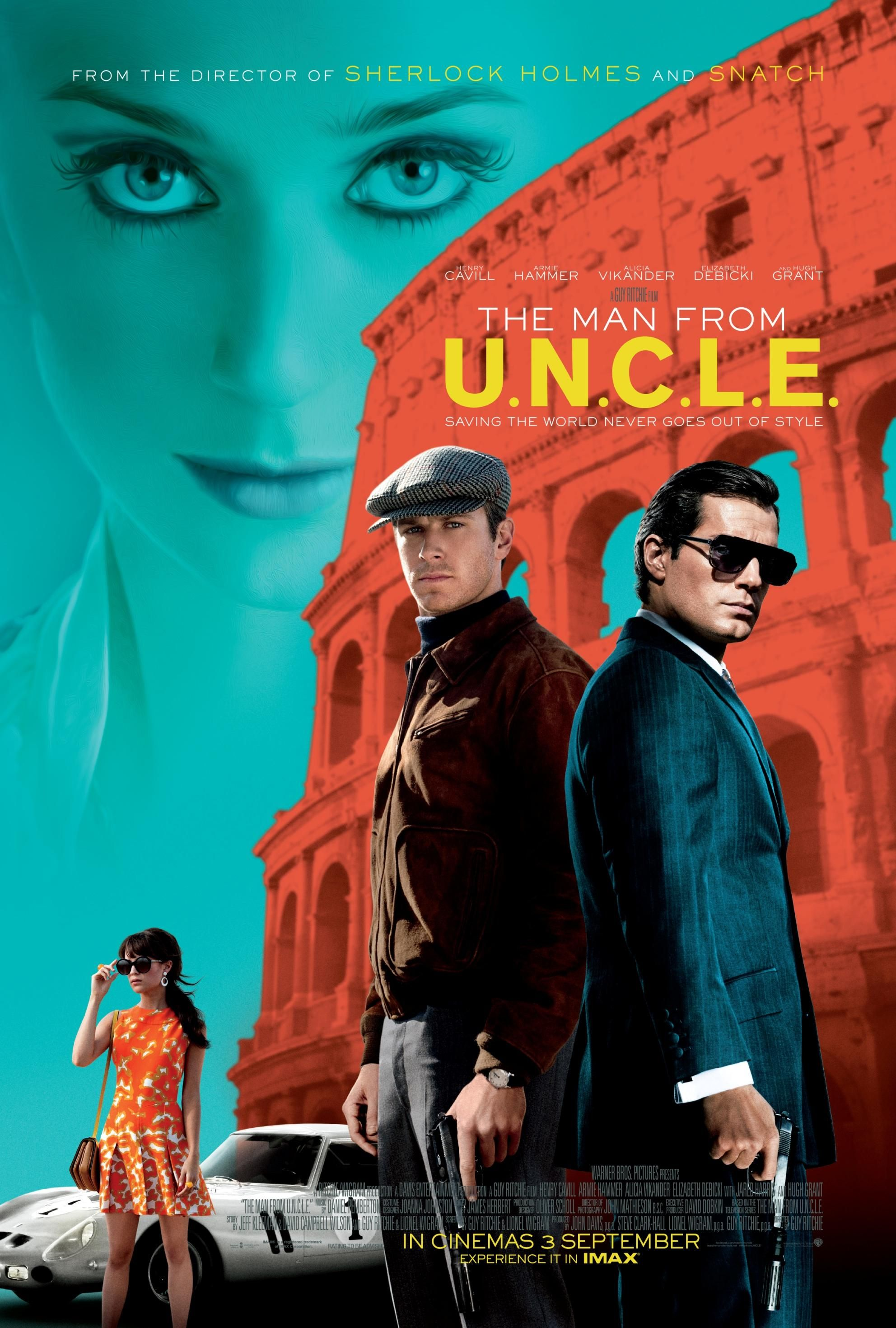 特務型戰|The Man from U.N.C.L.E.|116min / 2015 |GuyRitchie