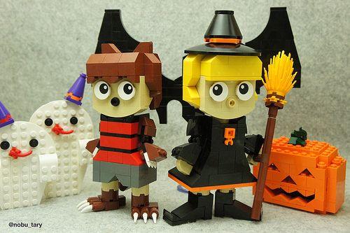 レゴ ハロウィン作品 「LEGO Halloween」