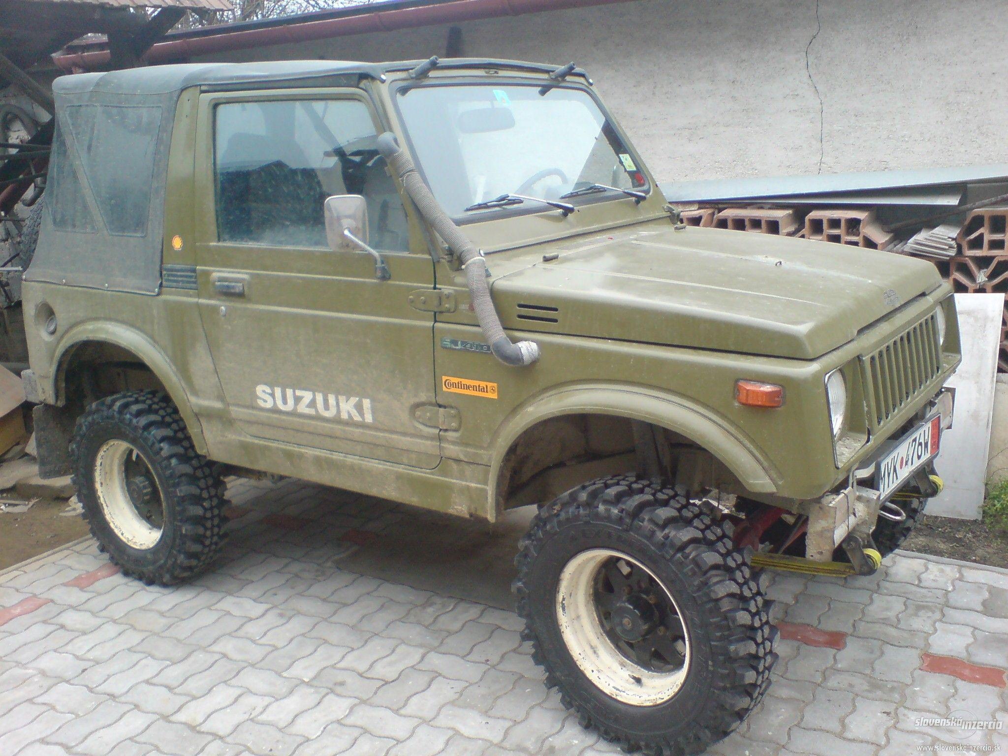 Suzuki Samurai Sj 410 Suzuki Samourai Voiture