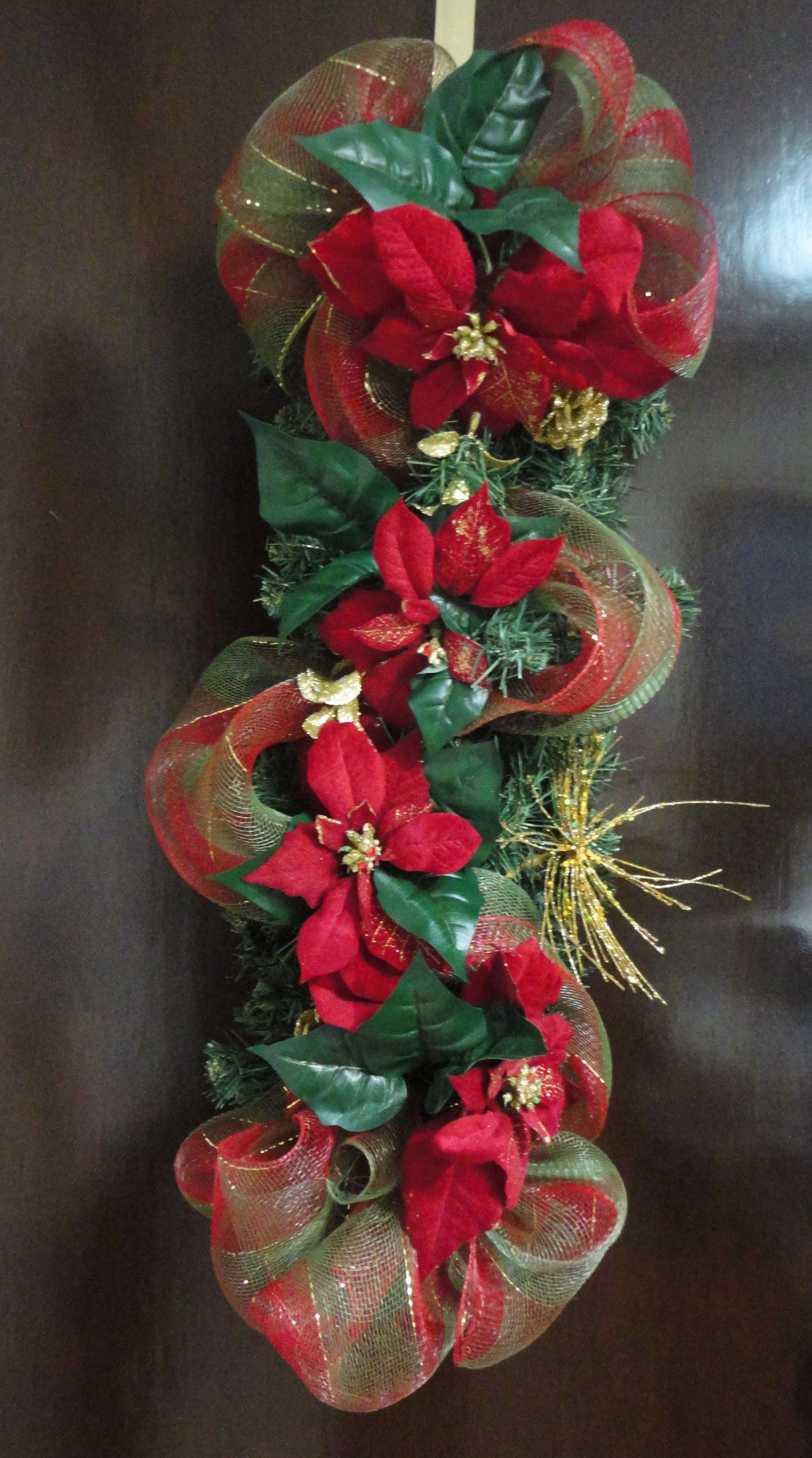 Pin de pattyarce en decoraci n navide a guilen s art - Guirnaldas de navidad ...
