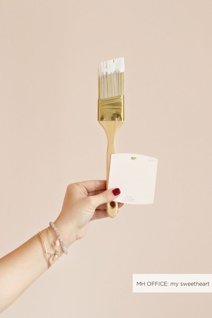 Wall Color My Sweetheart By Behr   A Soft Blush Color   Monikahibbs