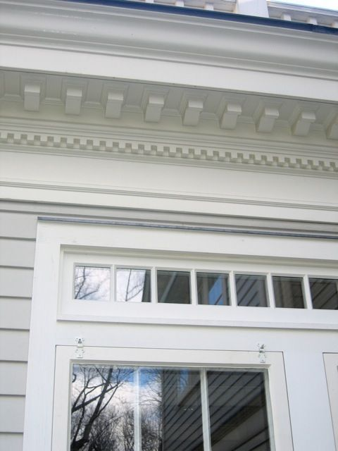 Dentil molding - colonial roof trim | Colonial Architectural ...