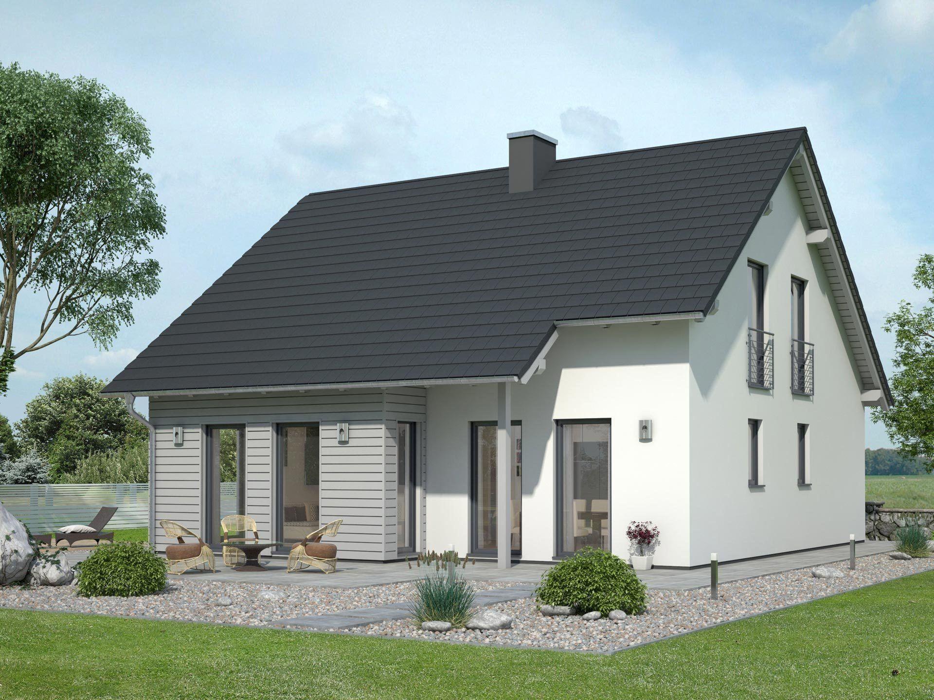 Massivhaus satteldach  Innovationshaus 140 • Bausatzhaus von Ytong Bausatzhaus • Modernes ...