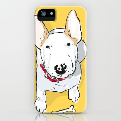 Bull Terrier iPhone 5 Case #iphone5