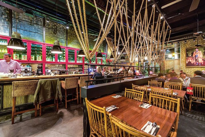 Thai restaurant by studio yaron tal tel aviv