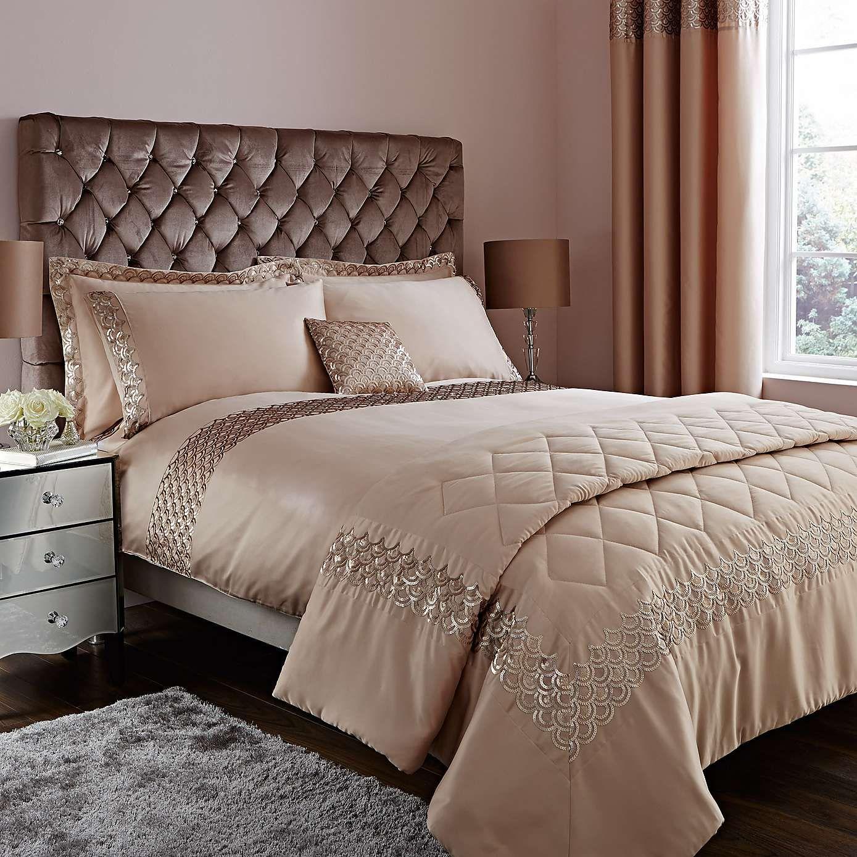 Charleston champagne duvet cover dunelm laurens board for Fashionista bedroom ideas