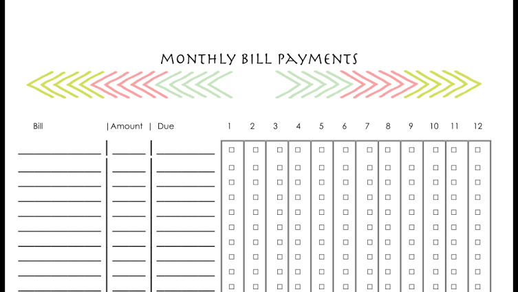 Bill Tracking Bill Tracker FREE PDF EMAILED. complete