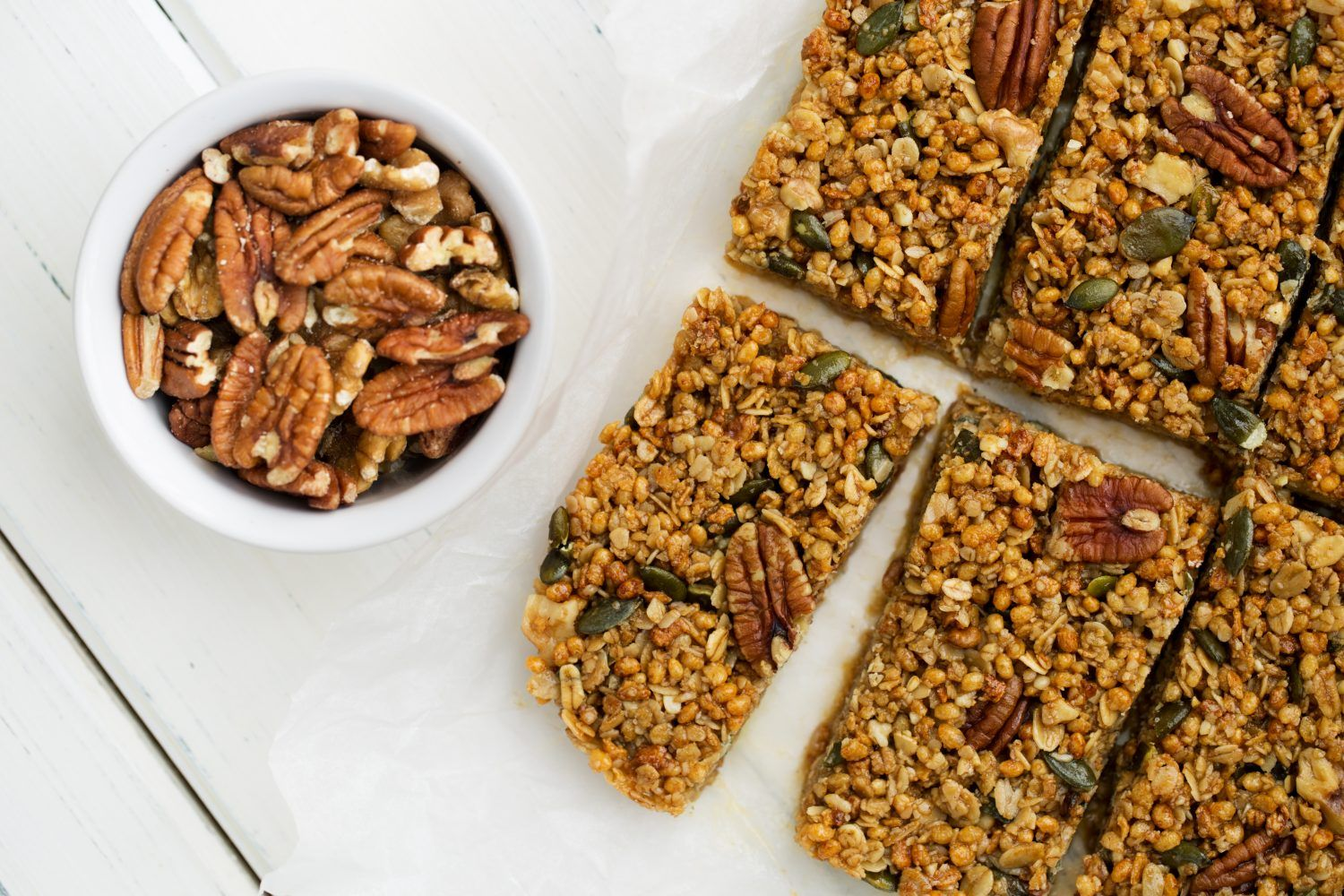 High Protein Flapjack Recipes from Lizi's Granola