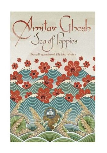 """Currently reading """"Sea of Poppies""""."""