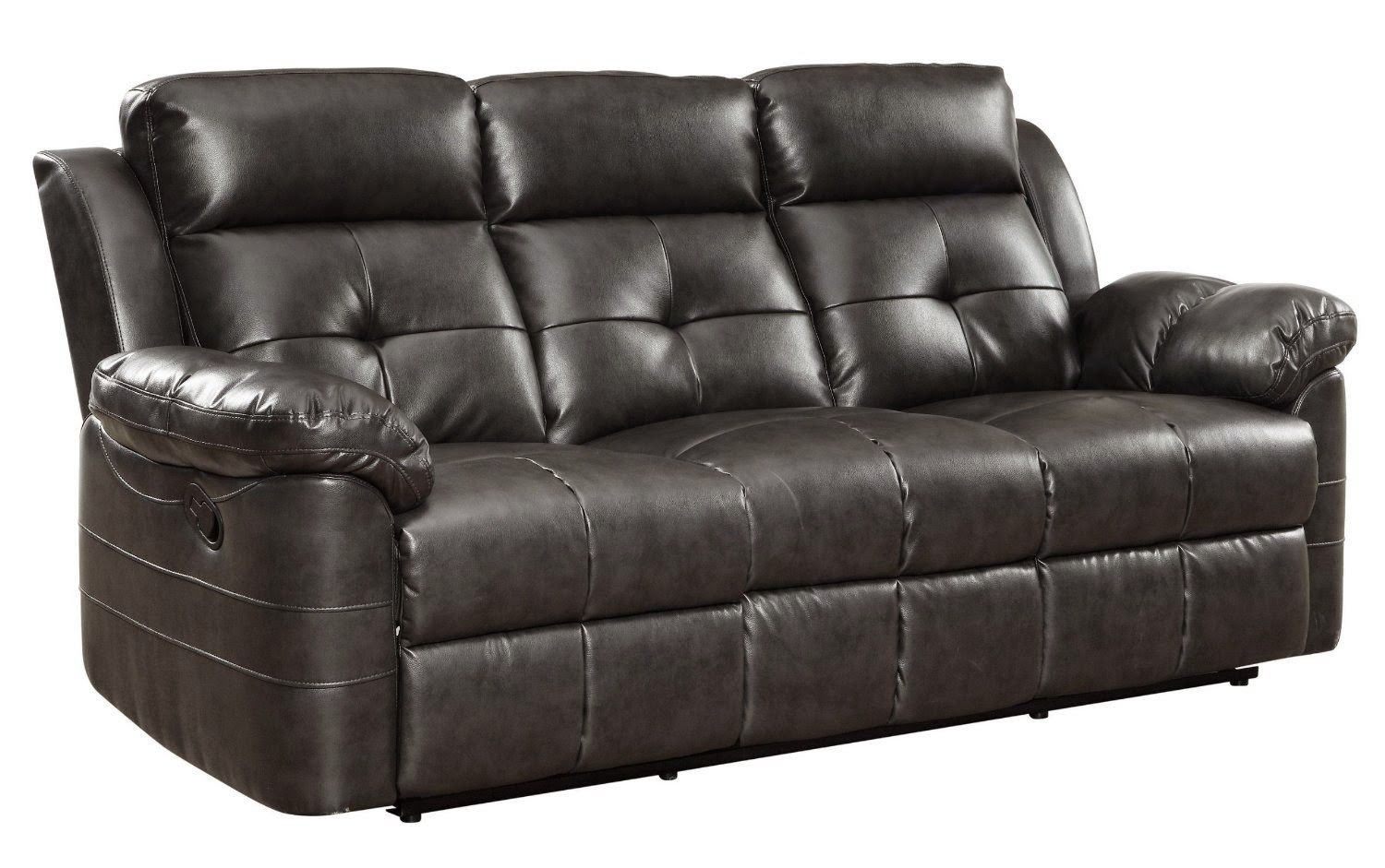 Himolla Chester Curved 3 Seater Manual Reclining Sofa Recliner