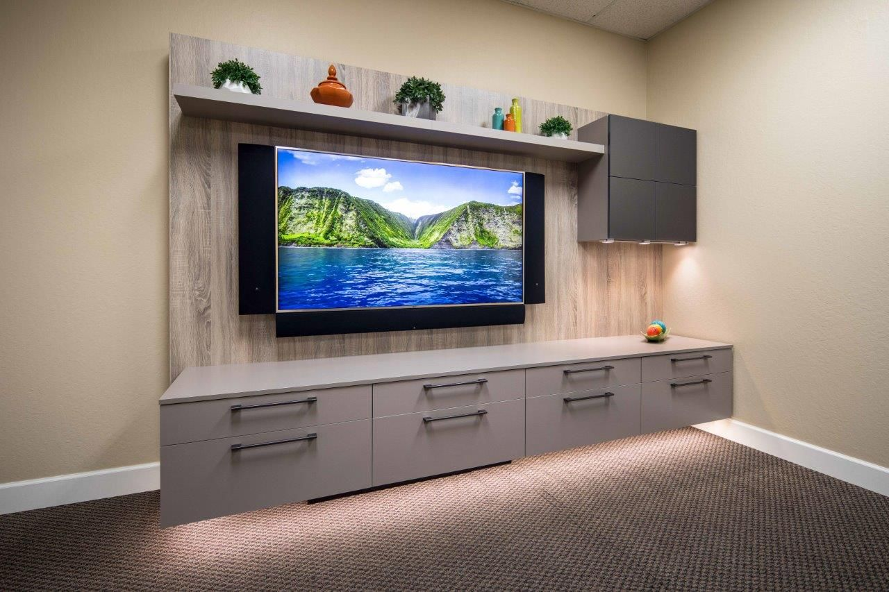 Integrating Technology Into Your Living Space Home Entertainment Centers Home Entertainment Tv Decor