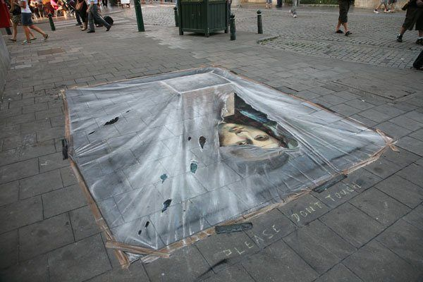 30 3D Pavement Drawings To Blow Your Mind