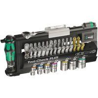 Wera Tool Check Plus Bit Ratchet Screwdriver Socket Wrench 1/4″ Metric Set 39 Pc    eBay