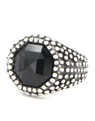 salvare 965a1 7e29e Ring Miracle Stardust Black | www.shopmiracle.it | Anelli
