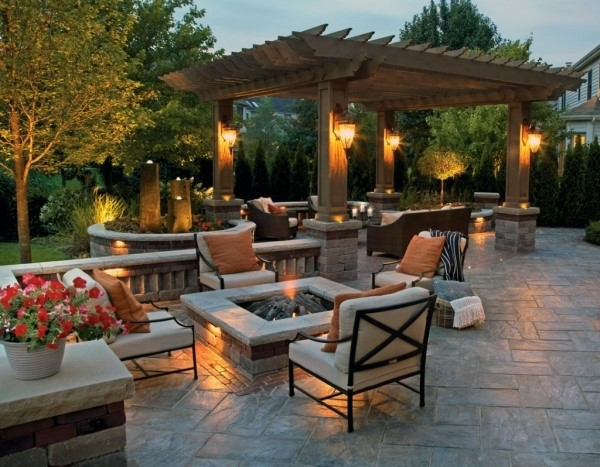 Top 60 Best Outdoor Patio Ideas Backyard Lounge Designs Backyard Design Backyard Patio Outdoor Backyard