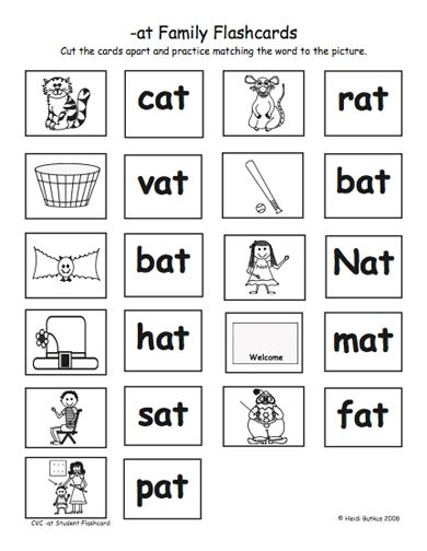 Cvc Worksheets For Kindergarten | ABITLIKETHIS