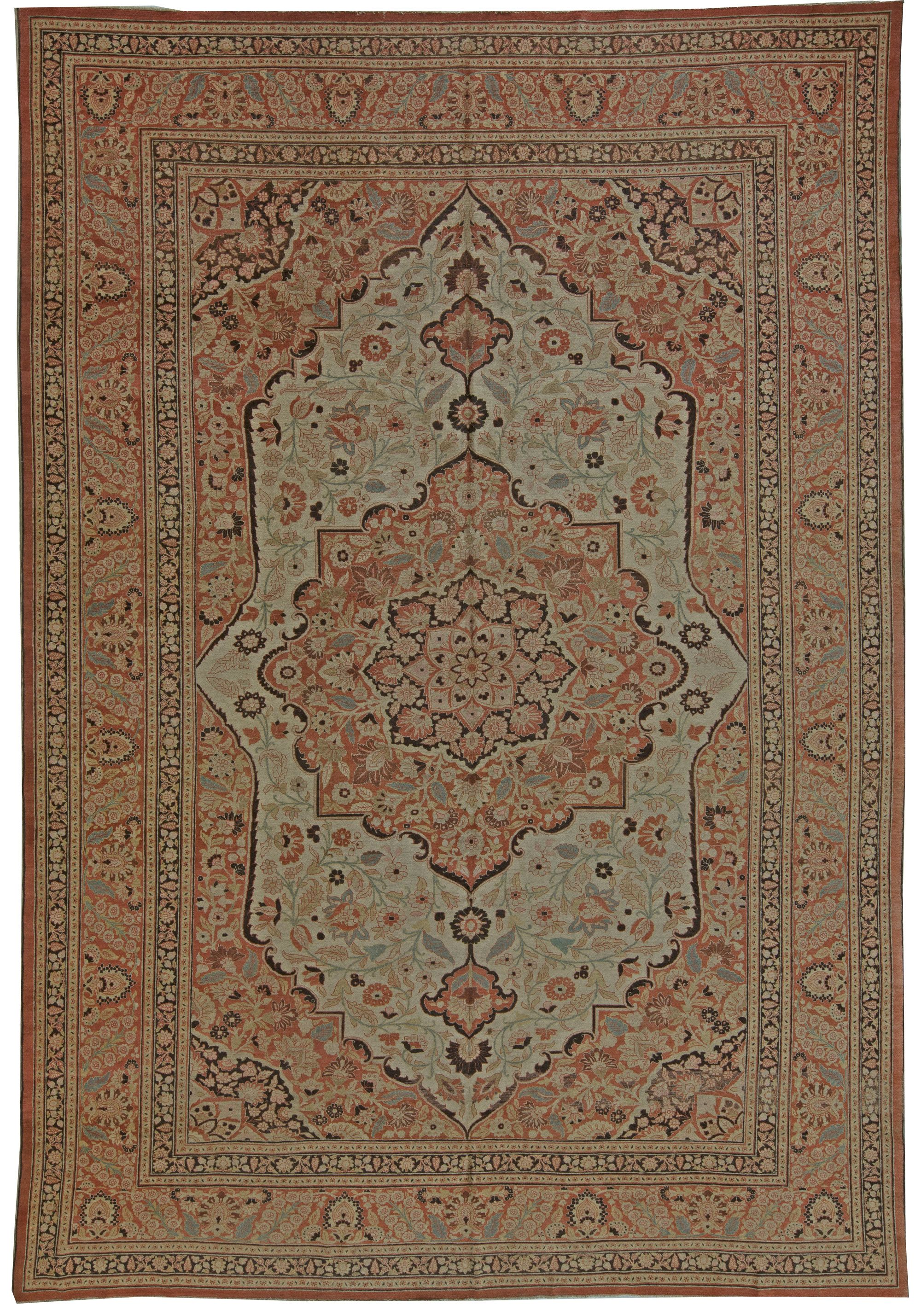 The Golden Age Of Persian Carpet Weaving Occurred During Safavid Dynasty When Shah Tahmasp