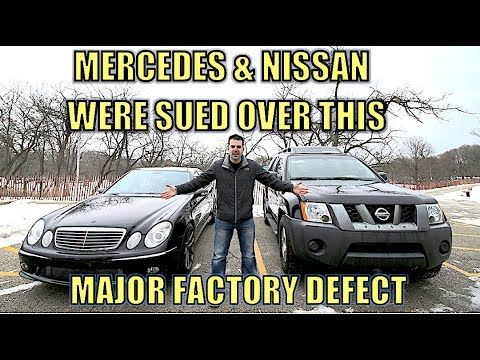 (2) Nissan & Mercedes Knew this Major Factory Defect Would