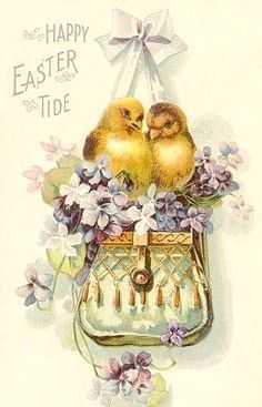 Pin By Tina Morgan Lester On Easter Vintage Easter Easter