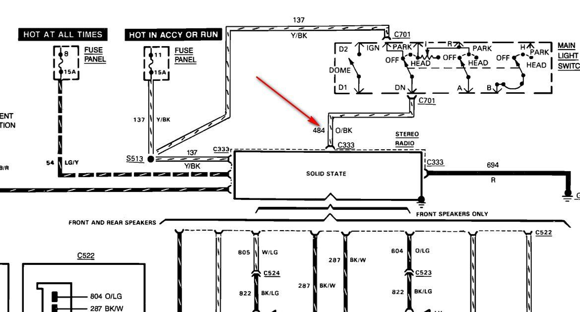 photo of ford wiring diagram circuit diagram 1989 f 150 4 15