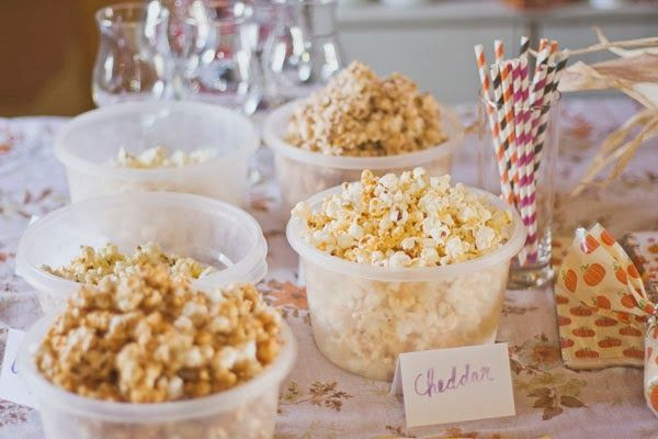 Abby Galloway popcorn party