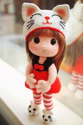 Коллекция кукол тайваньской мастерицы http://instagram.com/gomi_chen ...