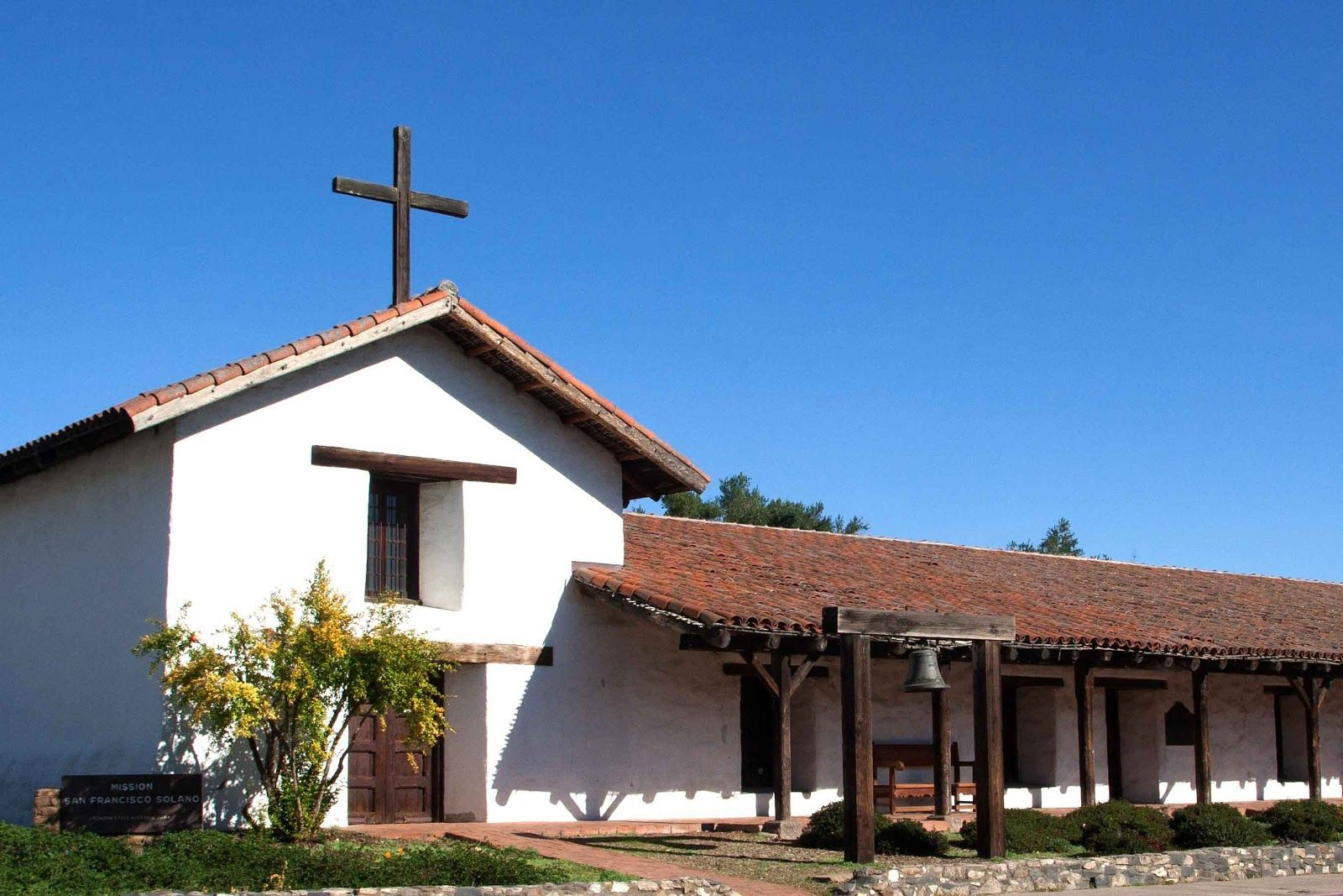 21. Mission San Francisco Solano, founded by Padre José