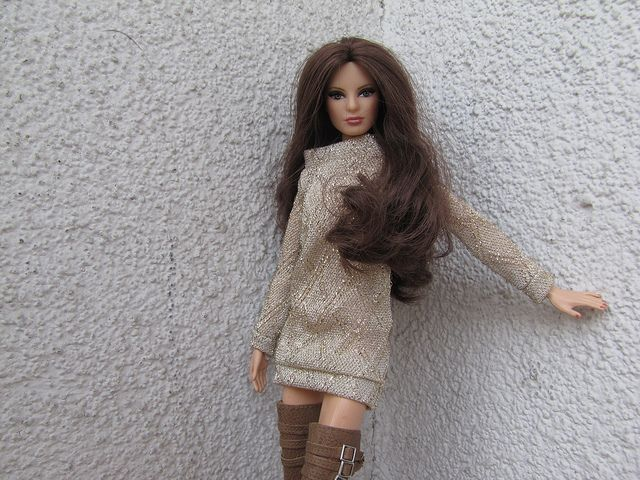 OOAK fashion- Barbie Basics Jeans 002 model 14 louboutin | Flickr - Photo Sharing!