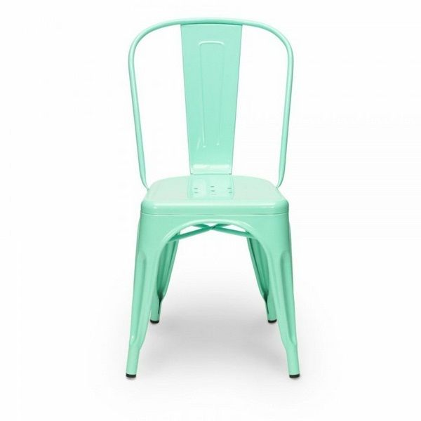 Tolix Chair Mint Green Designer Chairs Interpretation