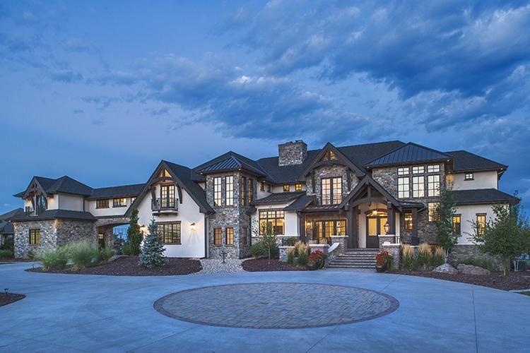 House Plan 5631-00072 - Craftsman Plan: 6,563 Square Feet, 5 Bedrooms, 5 Bathrooms