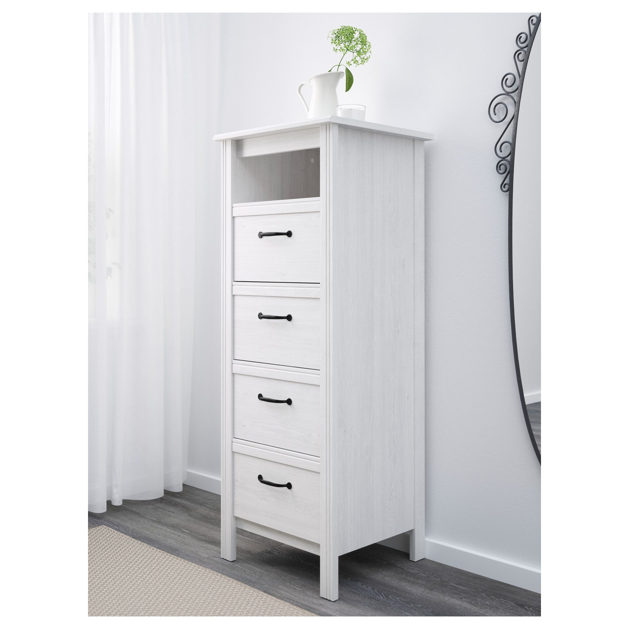 Brusali Hochschrank Ikea Brusali 4 Drawer Chest White Products Pinterest Ikea