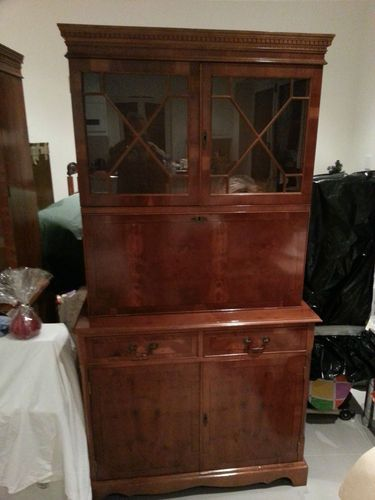 yew dining room furniture | Yew drinks cabinet | eBay | Dining room furniture | Drinks ...