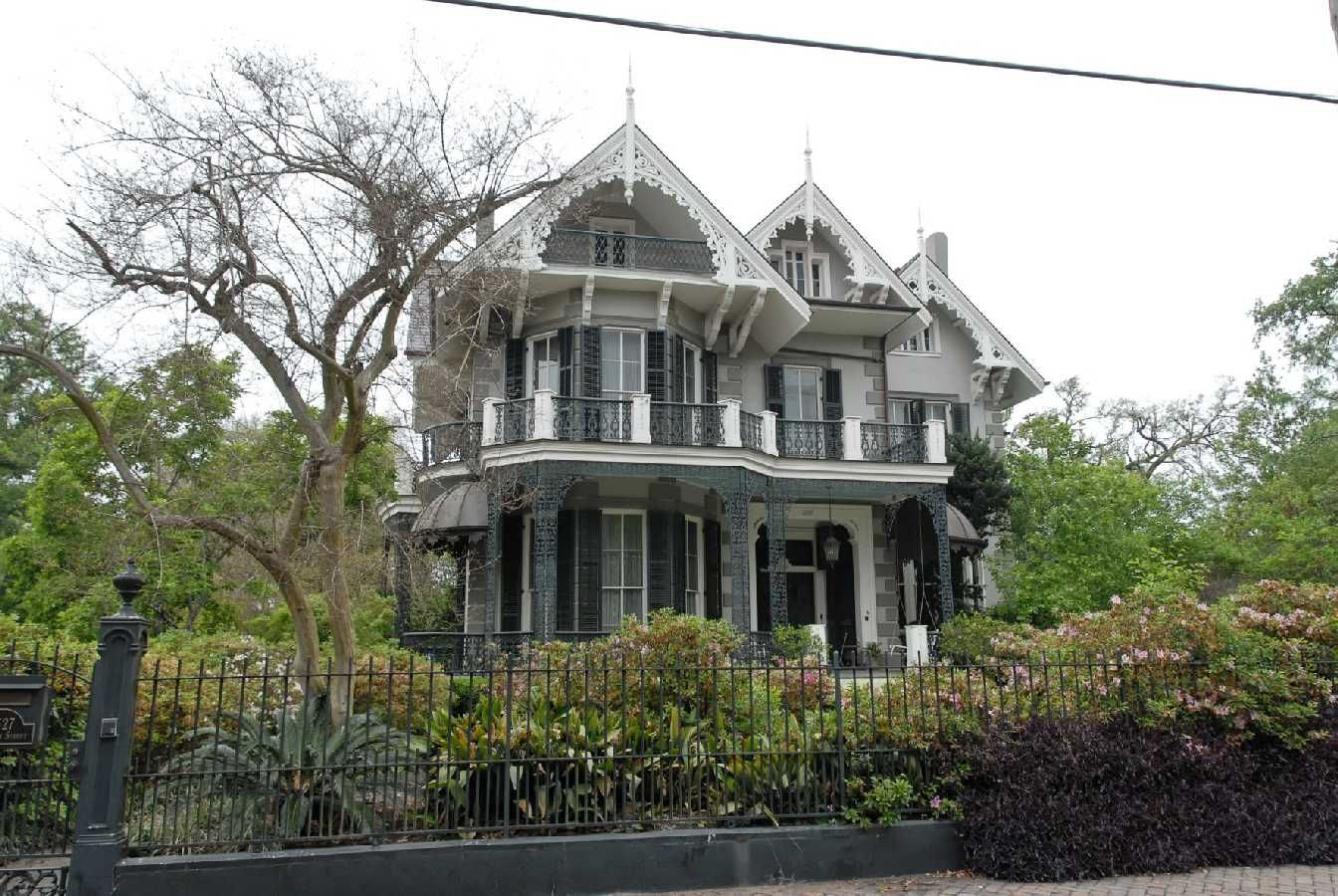 This Gothic Victorian On Coliseum Street In New Orleans Was Built