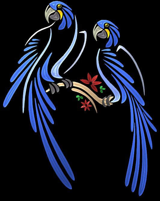 Parrots Illustrations Art Islamic Graphics Dibujos De Pajaro Dibujos De Aves Estarcido