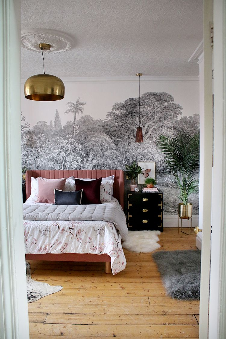 Best Jungle Glam The Reveal Of Our Master Bedroom Makeover 400 x 300