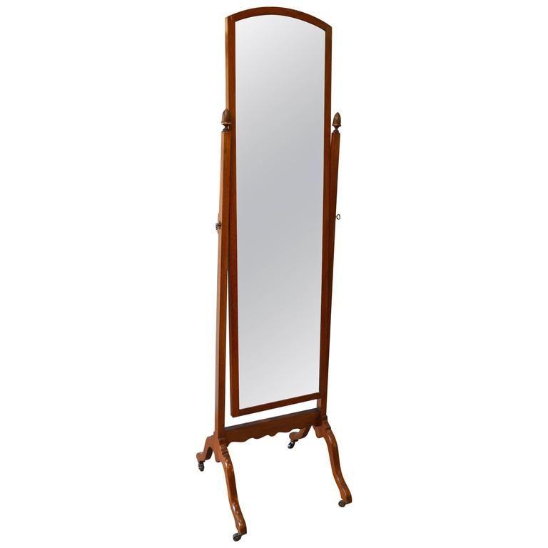 1920s Mahogany Cheval Mirror | Cheval mirror, Floor mirror and ...